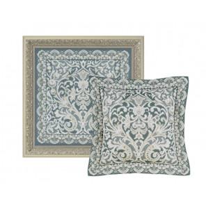 В рамке Венское кружево Набор для вышивания подушки, пано Риолис 1600