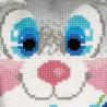 2_2 Зайчик Набор для вышивания подушки Риолис
