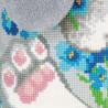 3_2 Зайчик Набор для вышивания подушки Риолис