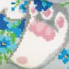 4_2 Зайчик Набор для вышивания подушки Риолис
