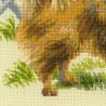 4_2 Малый шпиц Набор для вышивания Риолис