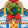 2_2 Ледяной домик Набор для вышивания Риолис