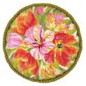 В рамке Тюльпаны Набор для вышивания подушки Риолис 1500