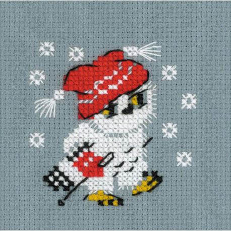 Снежок Набор для вышивания Риолис 1667