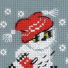 2_2 Снежок Набор для вышивания Риолис