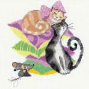 Кошки-мышки Набор для вышивания Риолис 1466