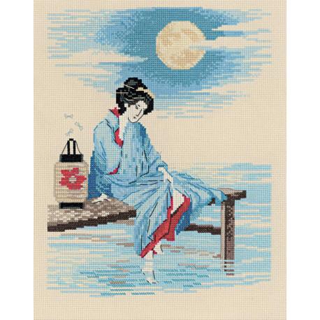 Светлая луна Набор для вышивания Риолис 1509