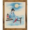 В рамке Светлая луна Набор для вышивания Риолис 1509