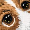 2_2 Щенок Набор для вышивания подушки Риолис