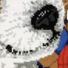 3_2 Щенок Набор для вышивания подушки Риолис