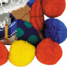 4_2 Щенок Набор для вышивания подушки Риолис