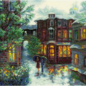 Дождливое лето Набор для вышивания Риолис 1677