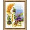 В рамке Прованская улочка Набор для вышивания Риолис 1689