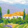 4_2 Цветущий прованс Набор для вышивания Риолис