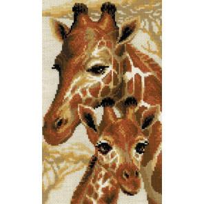 Жирафы Набор для вышивания Риолис 1697