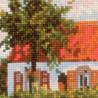 2_2 Ветряная мельница по мотивам картины К.Писсаро Набор для вышивания Риолис