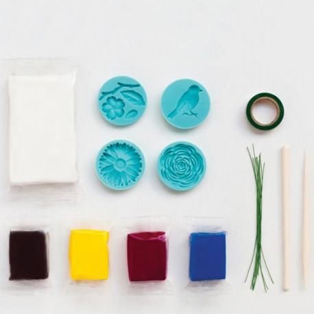 Цветы Набор полимерной глины для начинающих Марта Сюарт Martha Stewart