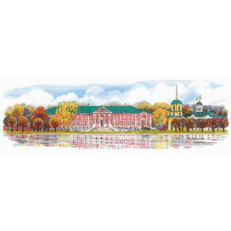 Усадьба Кусково Набор для вышивания Риолис 1734