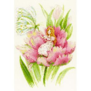 Дюймовочка Набор для вышивания Риолис 1735