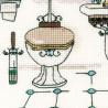 3_2 Интерьер ванной комнаты Набор для вышивания Риолис