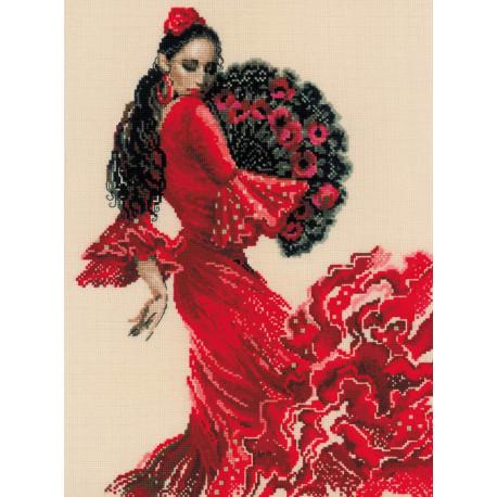 Танцовщица Набор для вышивания Риолис 1740