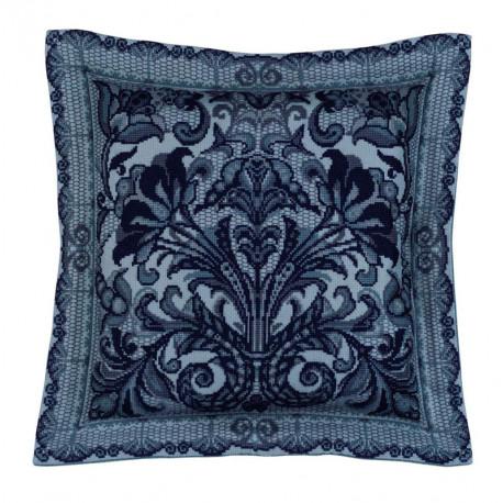 2_2 Испанское кружево Набор для вышивания подушки, пано Риолис