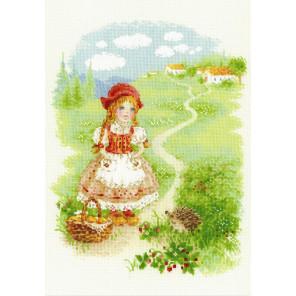 В рамке Красная Шапочка Набор для вышивания Риолис 1736