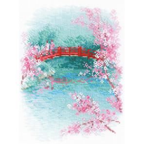 Сакура. Мостик Набор для вышивания Риолис 1745