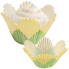 Желтый лепесток Набор бумажных форм для кексов Wilton ( Вилтон )