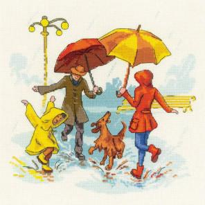 Нет плохой погоды Набор для вышивания Риолис 1799