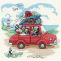 Папа купил автомобиль Набор для вышивания Риолис 1800