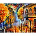 Теплая осень, Леонид Афремов Алмазная вышивка мозаика Алмазное Хобби