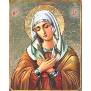 Икона Божией Матери «УМИЛЕНИЕ» Серафима Саровского Алмазная вышивка мозаика Алмазное Хобби