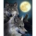 Волчья стая Алмазная вышивка мозаика Алмазное Хобби
