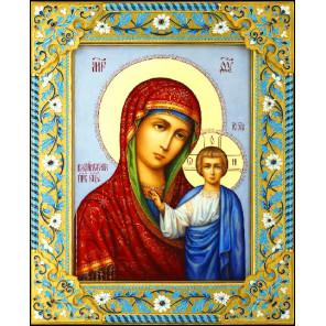 Казанская Богородица Алмазная вышивка мозаика Алмазное Хобби