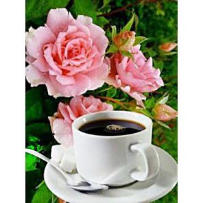 Утренний кофе Алмазная вышивка мозаика Алмазное Хобби