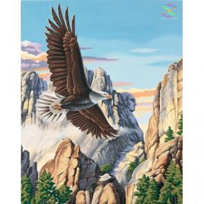 Парящий орел Алмазная вышивка мозаика Алмазное Хобби