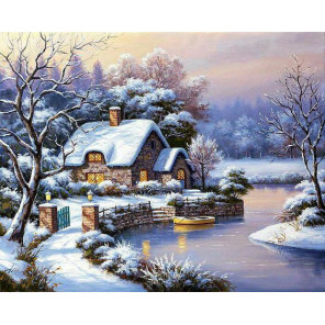 Уютный домик Алмазная вышивка мозаика Алмазное Хобби