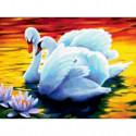 Лебеди Алмазная вышивка мозаика Алмазное Хобби