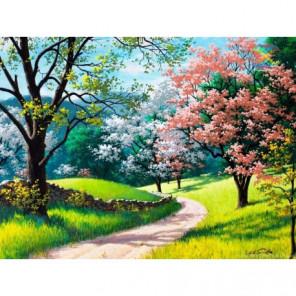 Цветущая весна Алмазная вышивка мозаика Алмазное Хобби