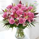 Букет из роз и лилий Алмазная вышивка мозаика Алмазное Хобби