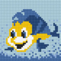 Рыбка Алмазная вышивка мозаика Алмазное Хобби