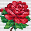 Розочка Алмазная вышивка мозаика Алмазное Хобби
