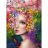 Девушка-весна Алмазная вышивка мозаика Алмазное Хобби