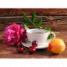 Чайный натюрморт Алмазная вышивка мозаика Алмазное Хобби