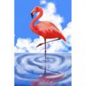 Розовый фламинго Алмазная вышивка мозаика Алмазное Хобби