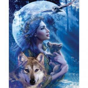 Богиня природы Алмазная вышивка мозаика Алмазное Хобби
