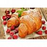 Круассаны с ягодами Алмазная вышивка мозаика Алмазное Хобби