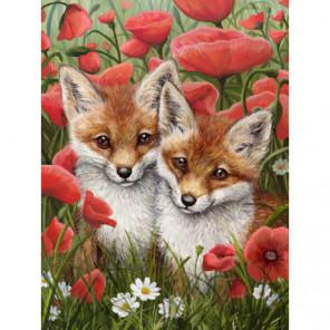 Рыжие малыши Алмазная вышивка мозаика Алмазное Хобби