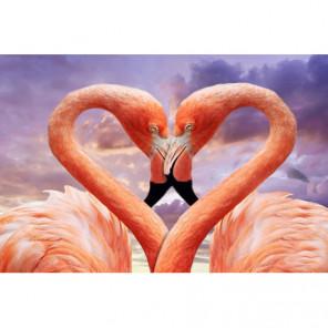 Любовь фламинго Алмазная вышивка мозаика Алмазное Хобби